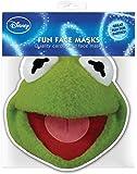 Muppets Kermit-Masque en carton brillant haute qualité en carton avec trous pour les yeux et élastique 30x 20CM
