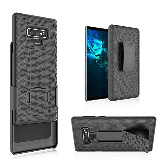 wholesale dealer 5a4d5 6f90a GW USA for Samsung Galaxy Note 9 Case, Galaxy Note 9 Swivel Slim Belt Clip  Holster Armor Protective Case, Defender Cover for Galaxy Note 9 Phone Case  ...