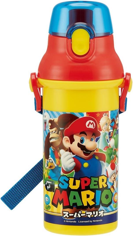 Direct drinking water bottle purawantatti Bottle 480ml Super Mario 17PSB5SAN