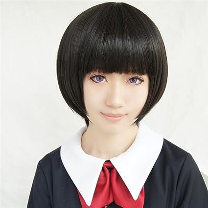 LanTing Cosplay Peluca Gugure! Kokkuri-san Kohina Ichimatsu ...