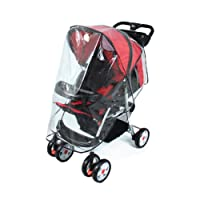 Universal Pushchair Stroller Buggy Rain Cover fits hundreds of models