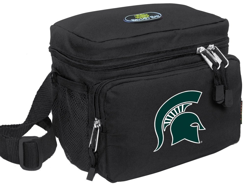 Broad Bay Michigan State University Lunch Bag OFFICIAL NCAA Michigan State Lunchboxes