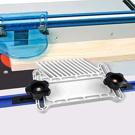 Fenteer Double Featherboards Table Travail du Bois DIY Outil Multifonction pour Scie /à Onglet Routeur