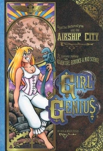 """Girl Genius Volume 2 - Agatha Heterodyne & The Airship City"" av Kaja Foglio"