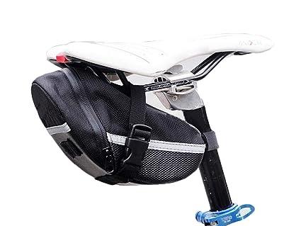 Amazon Com Eyiou Mountain Bike Saddle Bag Strap On Bike Saddle Bag