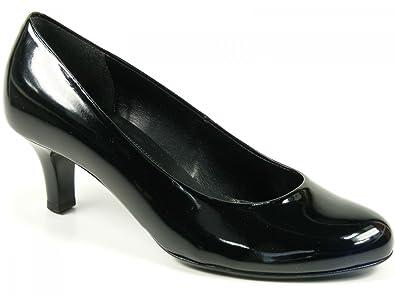Gabor Schuhe Damen Pumps High Heels schwarz Lack Weite F 65