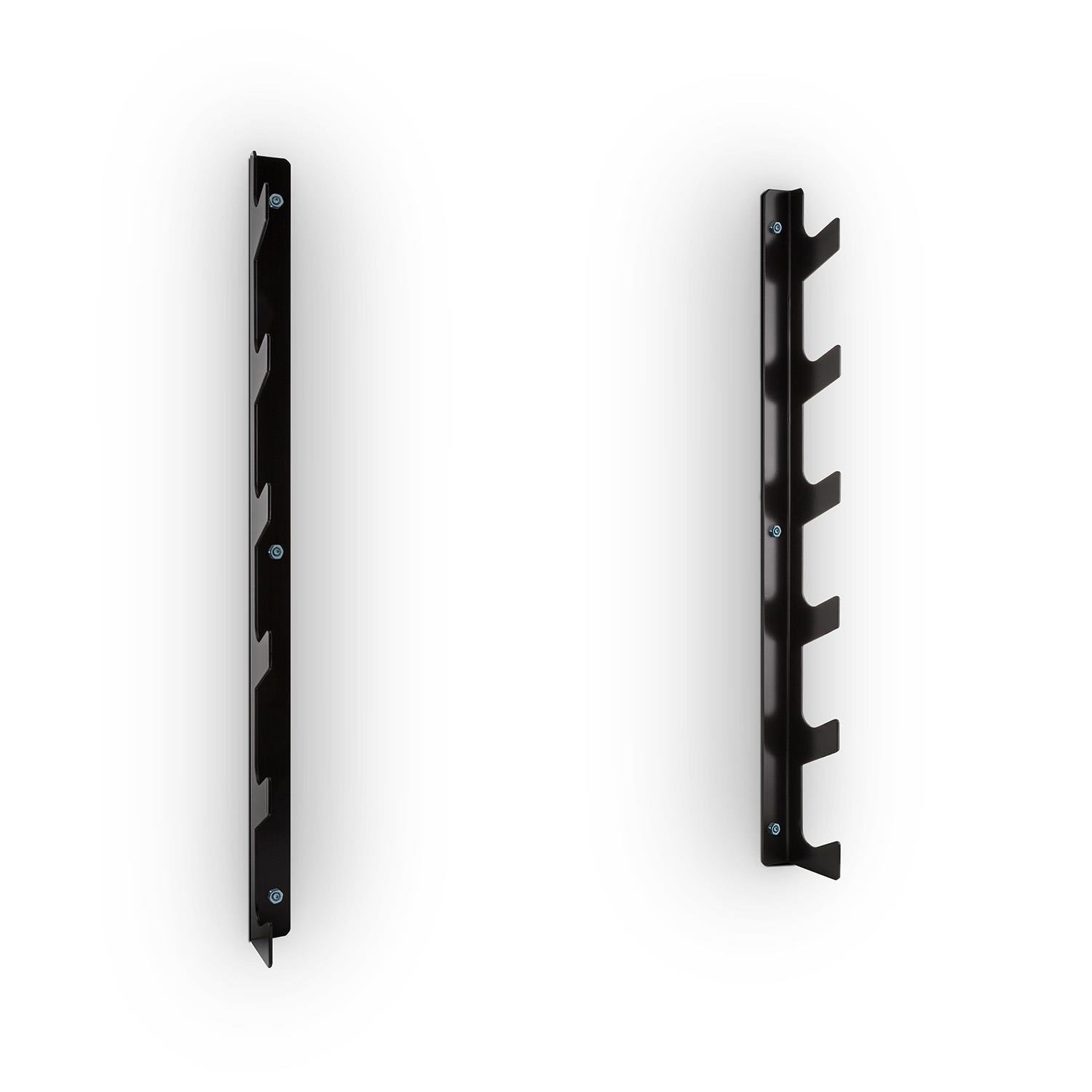 Capital Sports Barria Soporte en pared para barras de pesas (6 ganchos, 250kg carga