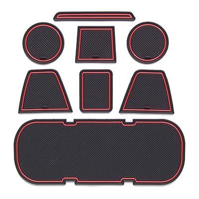 OnlyPower Custom Fit Cup Holder, Door Storage Center Console Liner Accessories for Subaru BRZ Toyota 86 FR-S 2020 2020 2020 2013-2016 8Pcs/Set: Automotive