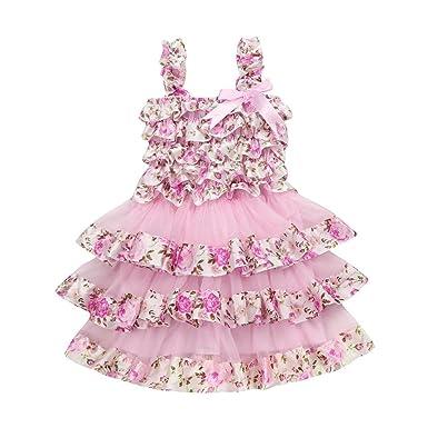 a0e34f064 Amazon.com: Goodlock Toddler Kids Fashion Dress Summer Children Girl ...