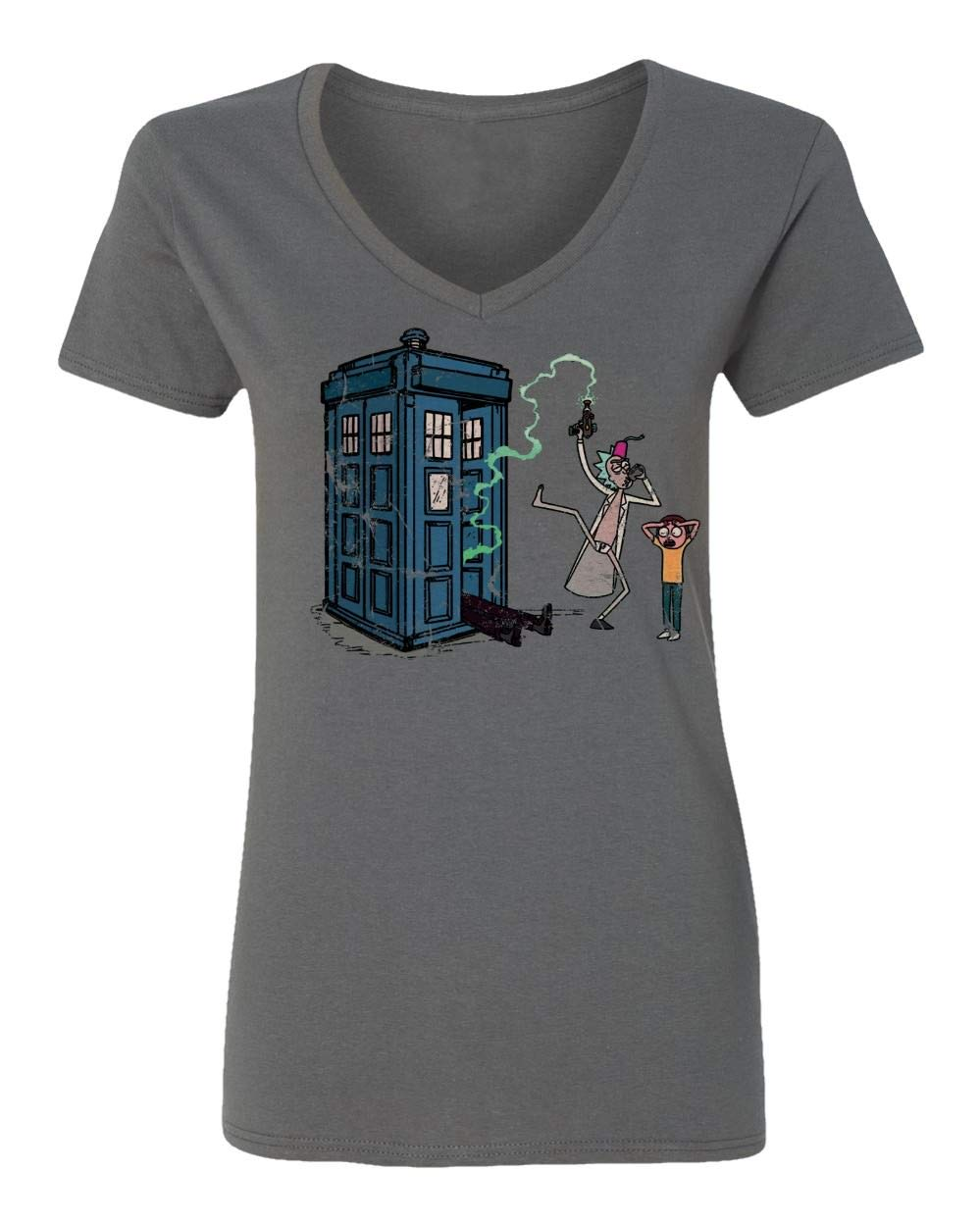 New Graphic Tee Rick Morty Shirt Doctor Who Rick Morty Graphic Vneck T Shirt 2952