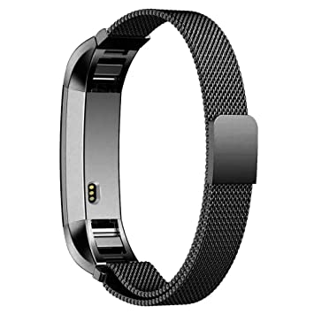 For Fitbit Alta Alta HR Magnet Milanese Stainless Steel Replacement Band Strap