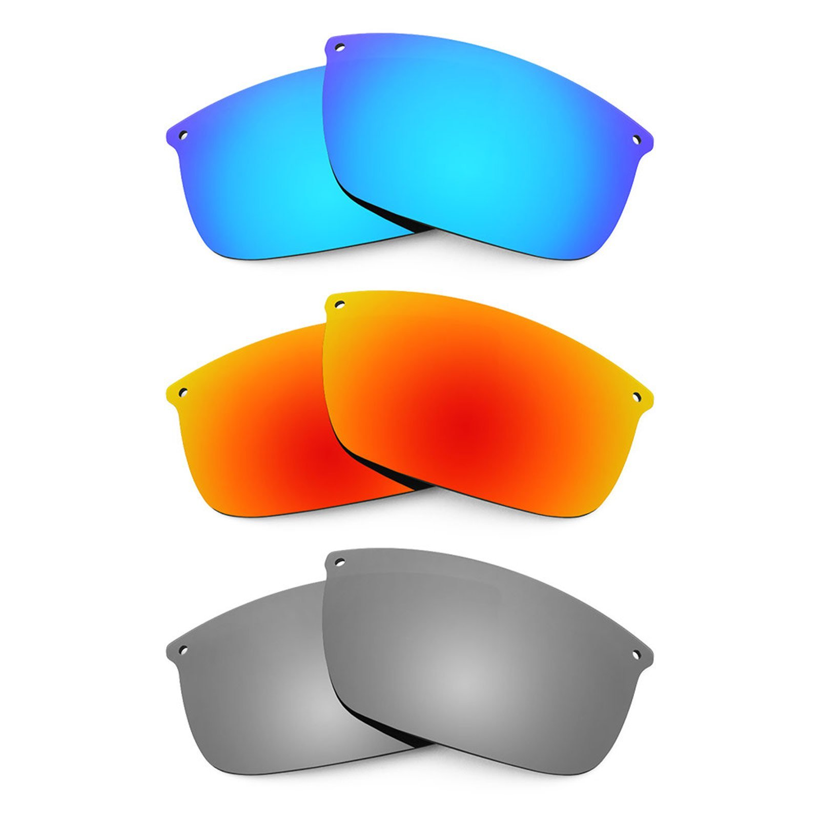 Revant Replacement Lenses for Oakley Carbon Blade 3 Pair Combo Pack K014