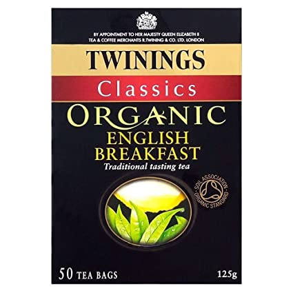 Twinings Orgánica Inglés Desayuno – 50 bolsas): Amazon.com ...