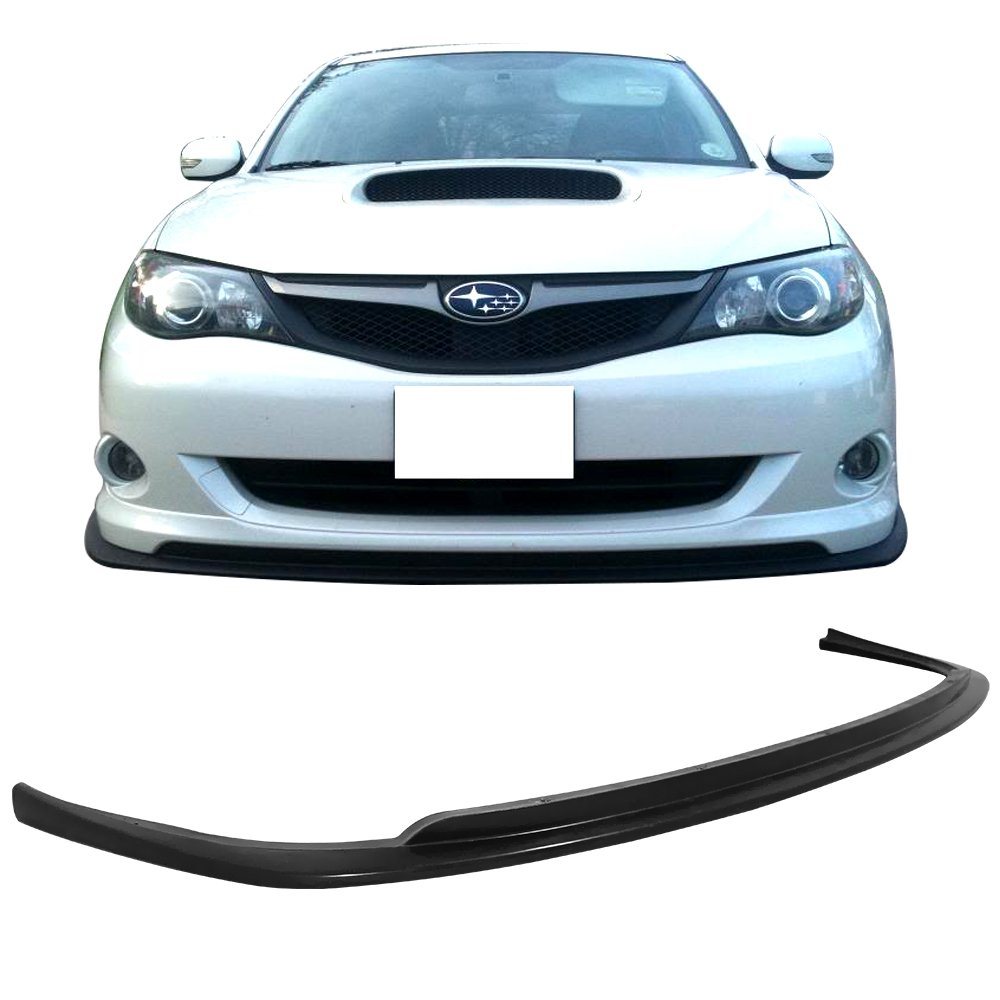 Splitter Spoiler Valance Chin Diffuser Body kit by IKON MOTORSPORTS Front Bumper Lip Compatible With 2015-2020 BMW F80 M3 F82 M4 PU GTS Style Polyurethane 2016 2017