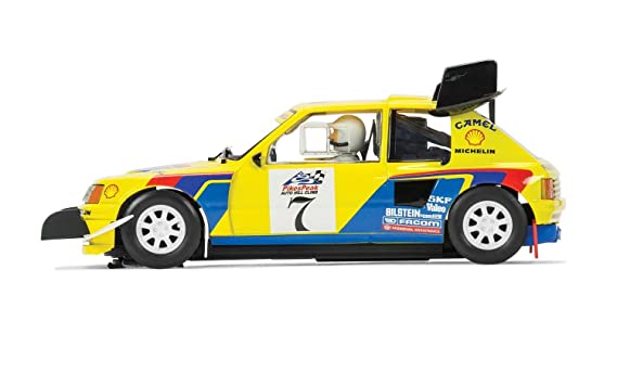 Amazon.com: Scalextric Peugeot 205 T16 Shell Slot Car (1:32 Scale): Toys & Games