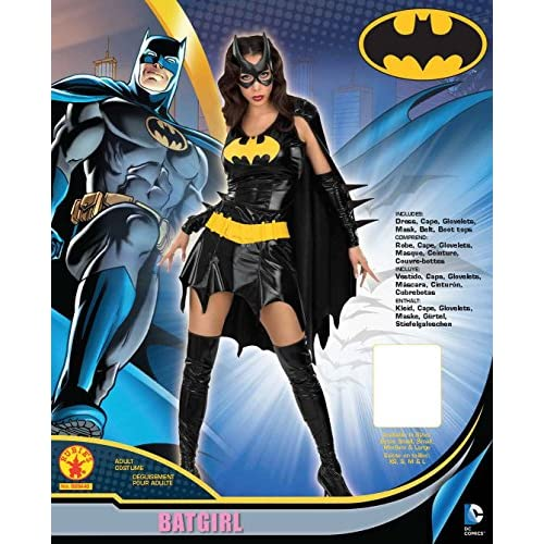 Secret Wishes Women's dc Comics Adult Batgirl Costume
