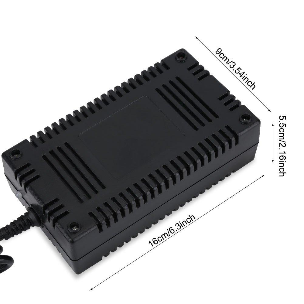 Acogedor Cargador, Cargador de Scooter, 24V 1.6A - 2.0A, Anti-Deformación, Buen Disipar El Calor, Proteccion contra Sobrecarga, Ligero, para Scooters ...