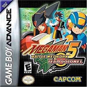Mega Man Battle Network 5 Team Colonel