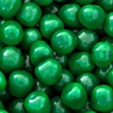 Green Apple Fruit Sours Chewy Candy Balls 1lb Bag