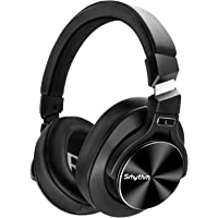 Noise Cancelling Headphones Bluetooth V5.0 Wireless,40Hours Playtime Headsets Over Ear with Microphones&Fast Charge…