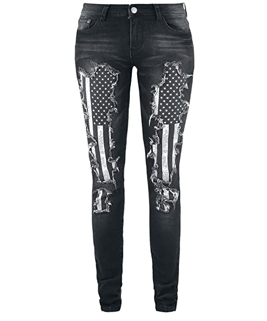 American Ripped Rock Jeans