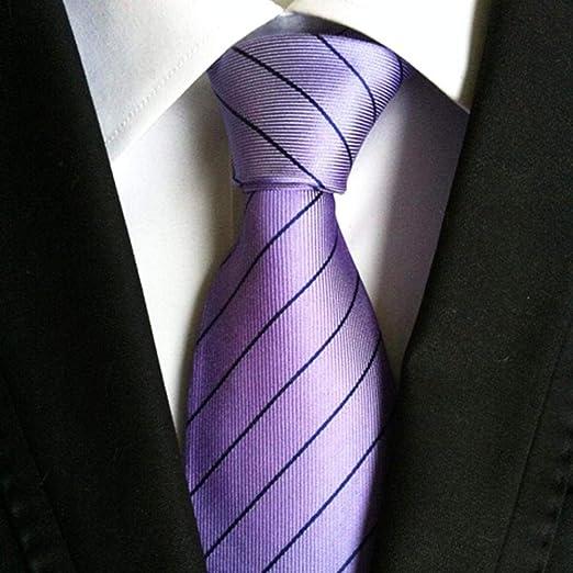 Littlefairy Hombre Designer Corbata,Corbata de Negocios Estilo ...