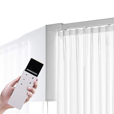 5.2M Smart Curtain Tracks,Remote Control DIY Smart Electric Curtain Rail System