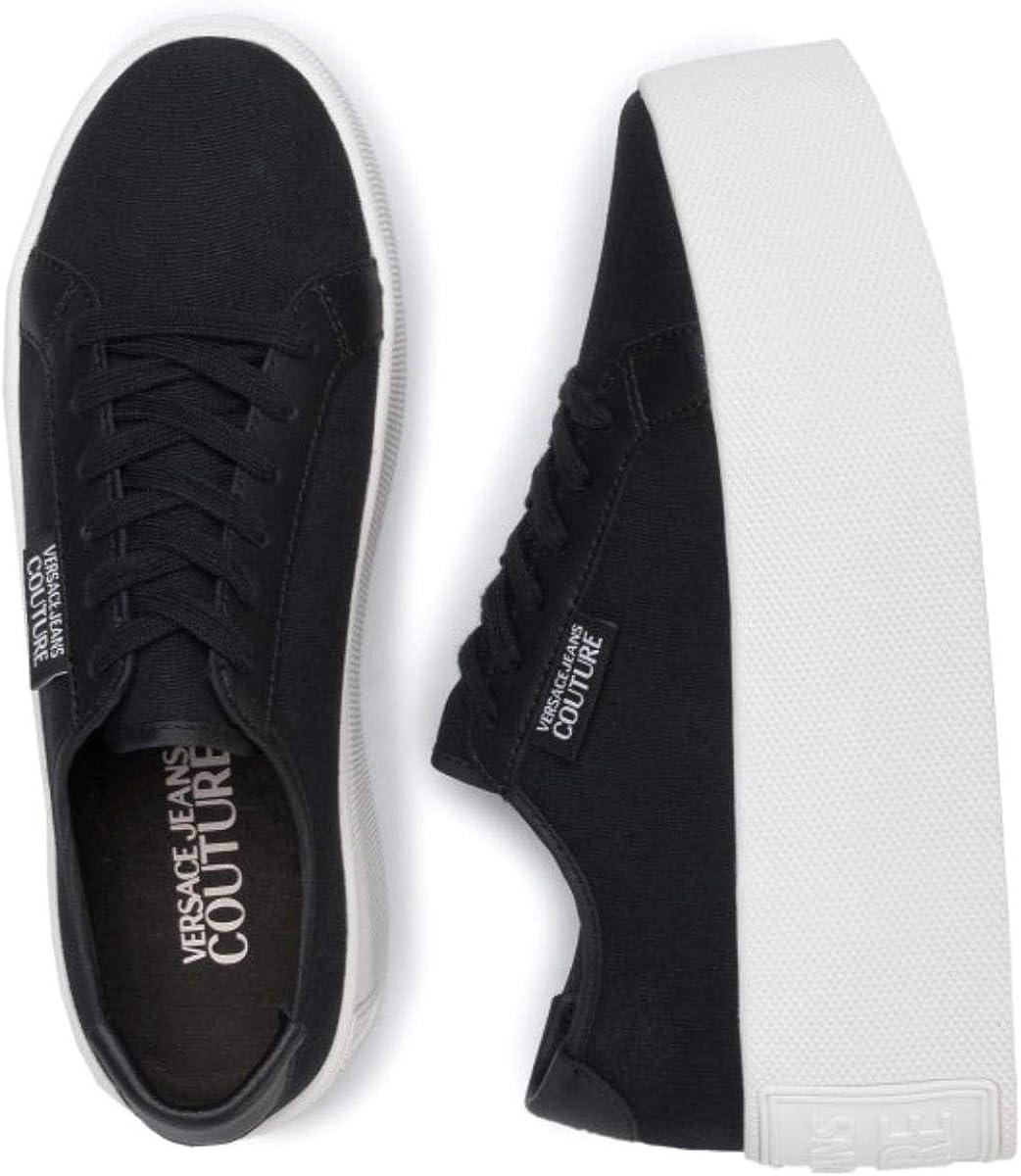 Versace JEANS Couture Damen-Sneakers – E0VVBSH47138 Schwarz