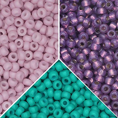 - Exclusive Beadaholique Designer Palette, Miyuki Seed Bead Mix, Round 11/0, 25.5 Grams, Martinique