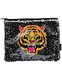 Fashion Angels Tiger/Fierce Magic Sequin Reveal Pouch