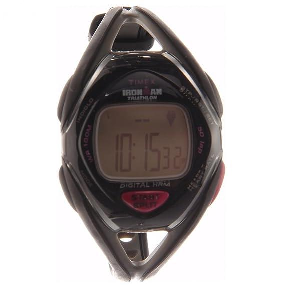 Timex Quarz T5K219F7 - Reloj de caballero de cuarzo, correa de resina color negro: Timex: Amazon.es: Relojes