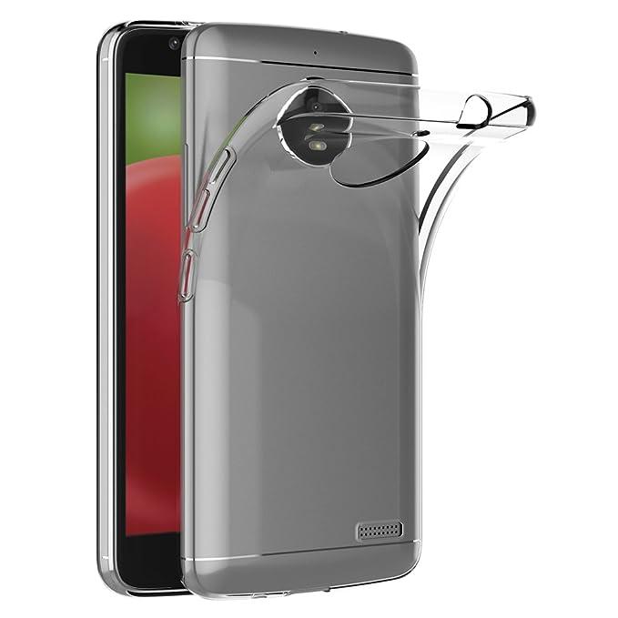 6 opinioni per Cover Motorola Moto E4, AICEK Cover Moto E4 Silicone Case Molle di TPU