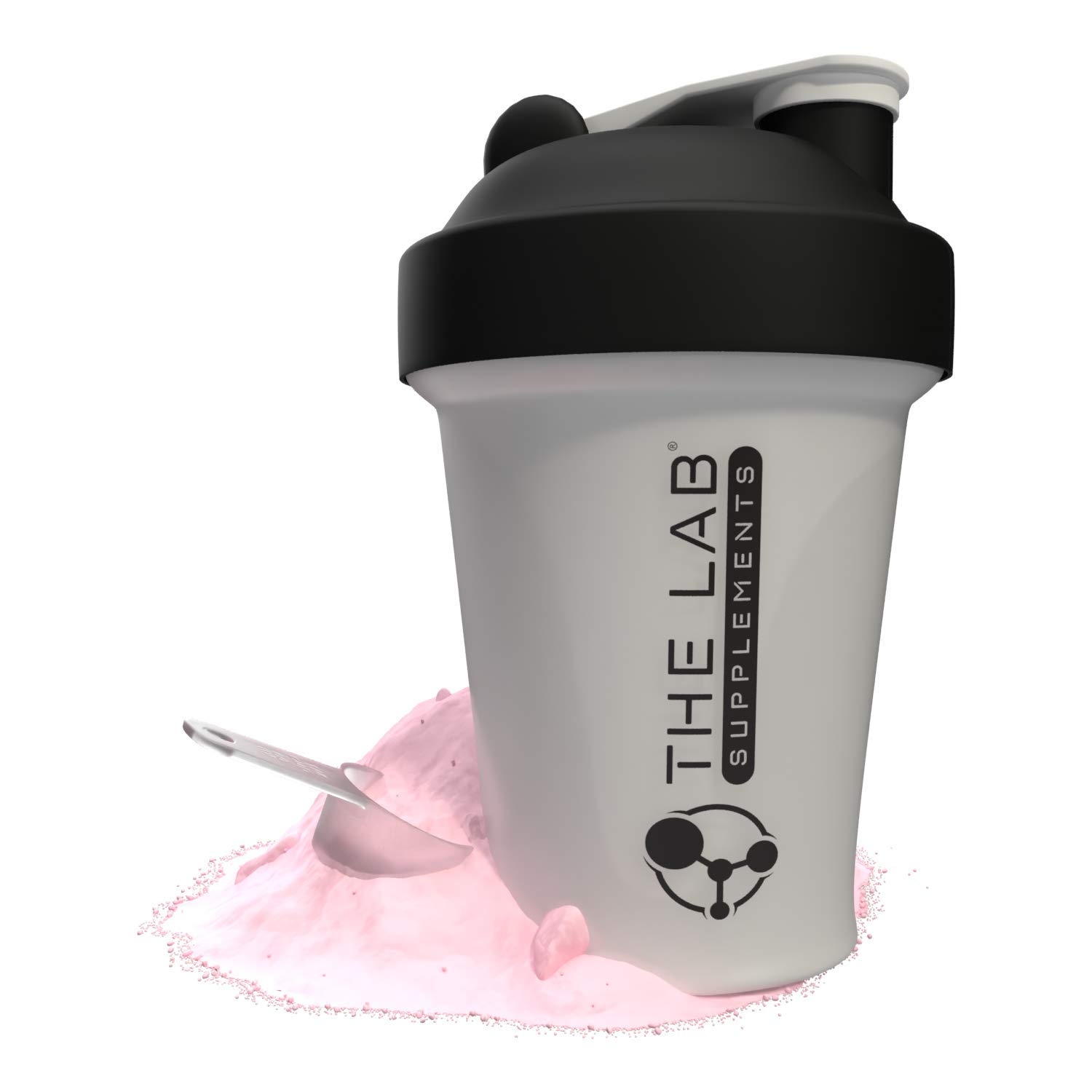 THE LAB Leak-Proof Shaker Bottle with Mixer Ball