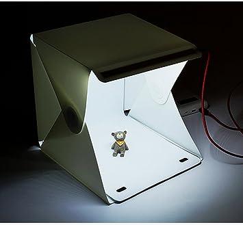 Du0026L Photography Studio Light Box 9u0026quot;x9u0026quot;x9.5u0026quot; Table Top Folding & Amazon.com : Du0026L Photography Studio Light Box 9