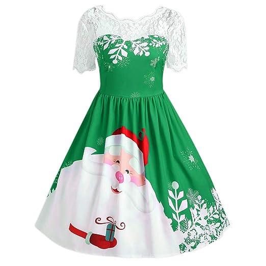 91542c442d3 Amazon.com: PLENTOP 2019 Dress for Women Plus Size Casual,Women's ...