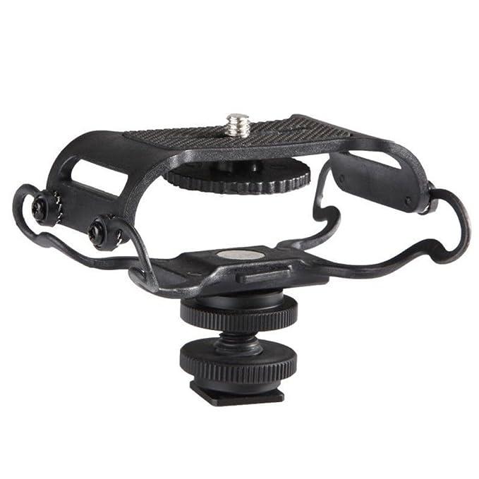 Dr-05 Boya By-c10 Universal Miniphone Und Tragbare Recorder Shock Mount-passt Die Zoom H4n Tascam Dr-40 H6 H5 Dr-07 Mit