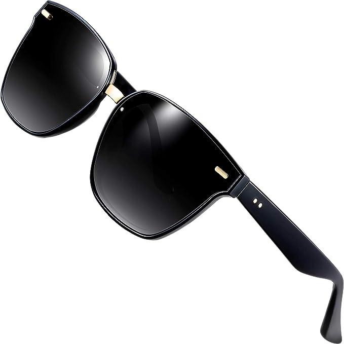 Amazon.com: ATTCL Wayfarer gafas de sol 100 % polarizados ...