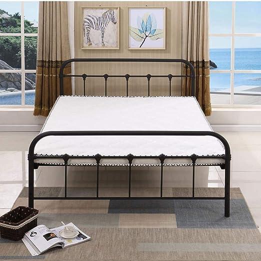 Amazon Com Home Wrought Iron Bed Frame Dark Bronze Metal Queen