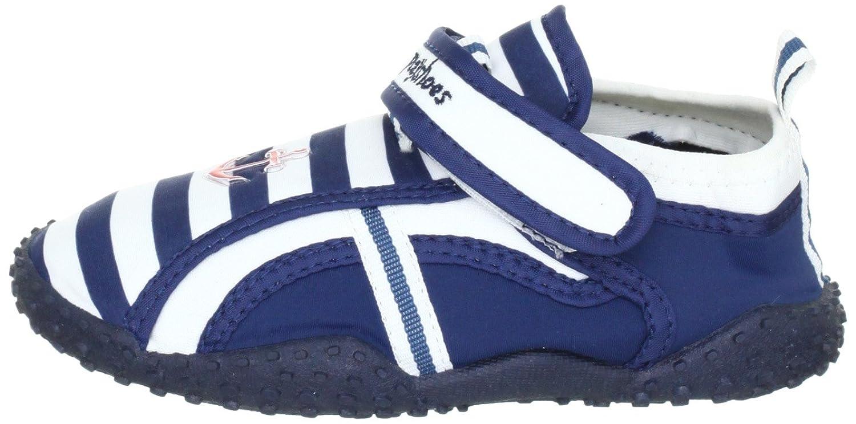 Chaussures De Jeu Maritime De Chaussures Aqua Avec La Plus Haute Protection Uv Après La Norme 801 174781 - Zapatillas De Casa De Tela Para Niño, Couleur Azul, Talla 34/35
