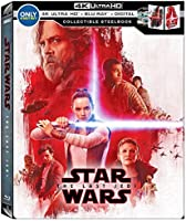 Star Wars The Last Jedi 4K Ultra HD Blu-ray Steelbook