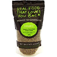 Honest to Goodness Organic French Style Green Lentils, 500g