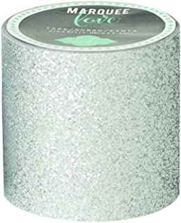 American Crafts Heidi Swapp Marquee Love Washi Tape 2 Argent, Paillettes, 8