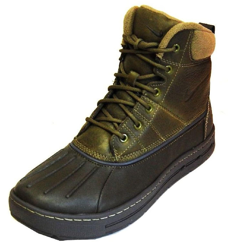 Nike Woodside Mens Size Boots Iguana / Sable Green / Dark Grey 386469-204 Size 9.5 US