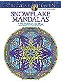 Creative Haven Snowflake Mandalas Coloring Book (Adult Coloring)
