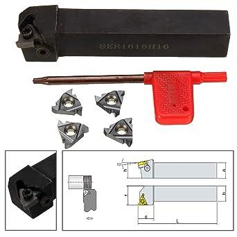 SER1616H16 16×100mm Threading Turning CNC Tool Holder FOR 16ER INSERT