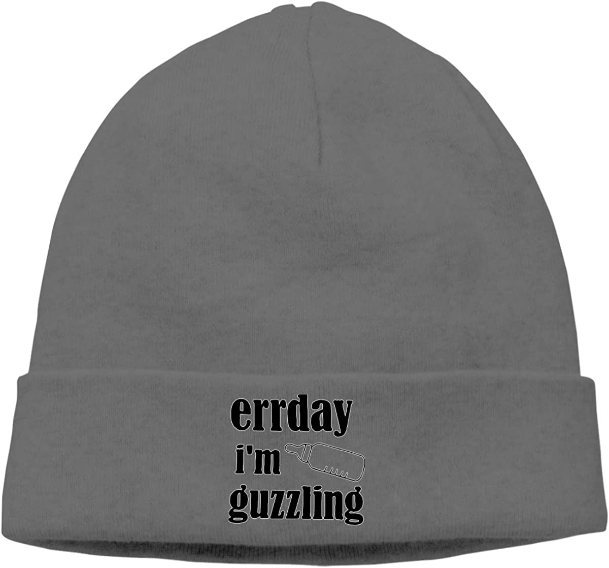 Nskngr Errday Im Guzzling Cap Mens/&Womens Deliciously Soft Daily Serious Beanies Beanie Skull Cap