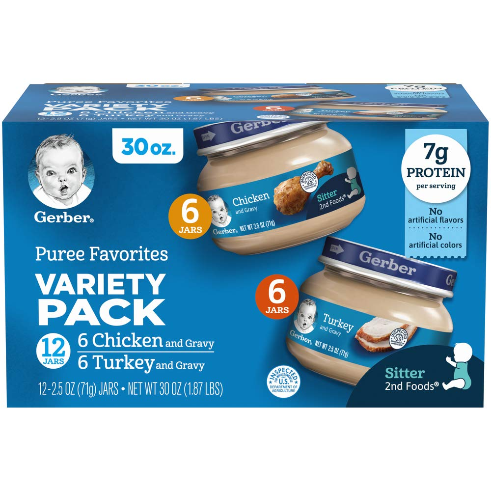 Gerber Assorted Meat Variety Pack