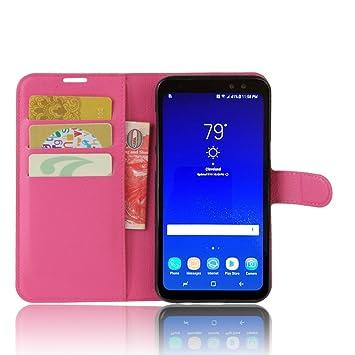 Funda para Samsung Galaxy S8 Active Faux Cuero Billetera con ...
