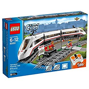 Amazon.com: LEGO City Trains High-speed Passenger Train 60051 Building