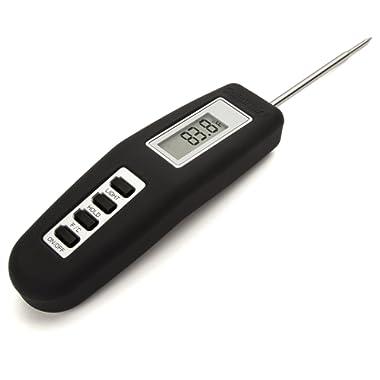 Cuisinart CSG-466 Digital Folding Probe Thermometer, Black